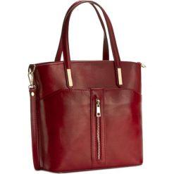 Torebka CREOLE - K10296  Czerwony. Czerwone torebki klasyczne damskie Creole, ze skóry. W wyprzedaży za 229,00 zł.