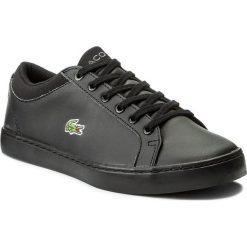 Trampki chłopięce: Sneakersy LACOSTE - Straightset Bl 1 Spj 7-32SPJ0103024 Blk