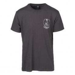 Rip Curl T-Shirt Męski Lazy Skull Xxl Ciemnoszary. Niebieskie t-shirty męskie marki Oakley, na lato, z bawełny, eleganckie. Za 134,00 zł.