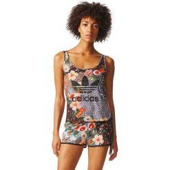 Adidas Koszulka damska JARDIM AGHARTA TANK Multikolor r. 34 (BR5124). Szare topy sportowe damskie marki Adidas, l, z dresówki, na jogę i pilates. Za 127,27 zł.