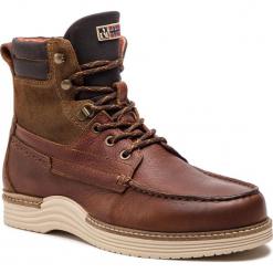 Kozaki NAPAPIJRI - Edmund 17841021 Cognac N45. Brązowe buty zimowe męskie marki Napapijri, z materiału. W wyprzedaży za 519,00 zł.