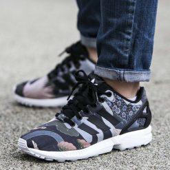 Buty adidas ZX Flux x Rita Ora (S75039). Czarne buty sportowe damskie adidas zx flux marki Adidas, z materiału. Za 119,99 zł.