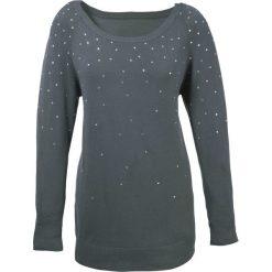 Swetry damskie: Sweter bonprix antracytowy