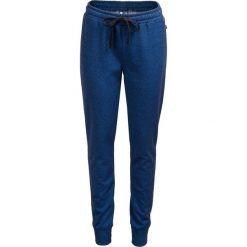 Spodnie dresowe damskie SPDD600 - GRANAT CIEMNY - Outhorn. Niebieskie spodnie dresowe damskie Outhorn, na jesień, z dresówki. W wyprzedaży za 55,99 zł.