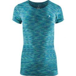 Outhorn Koszulka damska HOL18-TSDF600 zielona r. L. Szare bluzki damskie marki Outhorn, melanż, z bawełny. Za 27,99 zł.