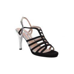 Sandały Tamaris  SANDAŁY  1-28320-26. Szare sandały damskie marki Tamaris, z materiału, na sznurówki. Za 139,99 zł.