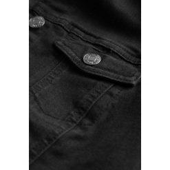 Bomberki damskie: Denimowa kurtka z haftem