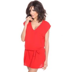 """Sukienki hiszpanki: Sukienka """"Arielle"""" w kolorze czerwonym"""