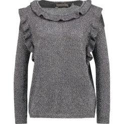 Swetry klasyczne damskie: See u Soon Sweter silvery