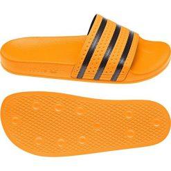 Adidas Klapki unisex Adilette żółte r. 43 (CQ3099). Czarne klapki męskie marki Adidas, z kauczuku. Za 164,00 zł.