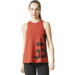 Topy sportowe damskie: Adidas Koszulka damska ADI AOP czerwona r. XS (CD8456)