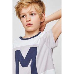 Odzież chłopięca: Mango Kids – T-shirt dziecięcy 104-164 cm