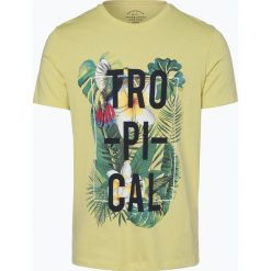 Jack & Jones - T-shirt męski – Jorrain, żółty. Czarne t-shirty męskie marki Jack & Jones, l, z bawełny, z okrągłym kołnierzem. Za 49,95 zł.