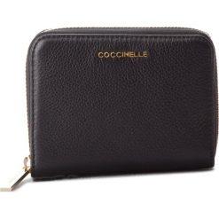 Duży Portfel Damski COCCINELLE - CW5 Metallic Soft E2 CW5 11 02 01 Noir 001. Czarne portfele damskie marki Coccinelle. Za 449,90 zł.