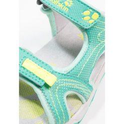 Jack Wolfskin ACORA Sandały trekkingowe deep mint. Zielone sandały chłopięce marki Jack Wolfskin, z materiału. Za 229,00 zł.