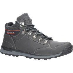 Szare buty trekkingowe sznurowane Casu MXC7584-W. Szare buty trekkingowe męskie Casu, na sznurówki. Za 129,99 zł.