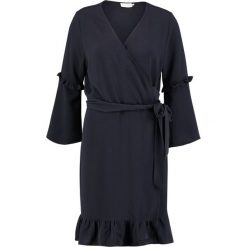 Sukienki hiszpanki: Kaffe AMILLA WRAP AROUND  Sukienka letnia midnight marine