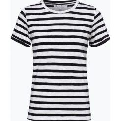 Marie Lund - T-shirt damski, beżowy. Brązowe t-shirty damskie Marie Lund, s, w paski. Za 59,95 zł.