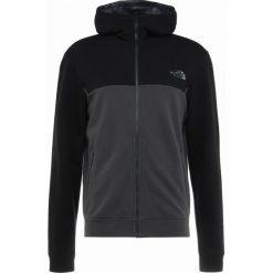 The North Face CANYONWALL FULLZIP HOODIE Bluza rozpinana black/asphalt grey. Szare bluzy męskie rozpinane marki The North Face, l, z materiału, z kapturem. Za 449,00 zł.