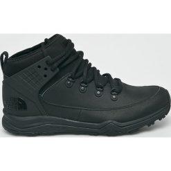 The North Face - Buty Dellan Mid. Czarne buty trekkingowe męskie marki The North Face, outdoorowe. W wyprzedaży za 479,90 zł.