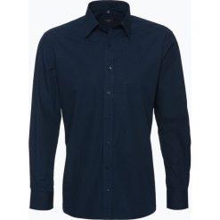 Koszule męskie na spinki: Eterna Modern Fit – Koszula męska łatwa w prasowaniu, niebieski