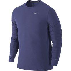 T-shirty męskie: koszulka do biegania męska NIKE DRI-FIT CONTOUR LONGSLEEVE / 683521-508 – NIKE DRI-FIT CONTOUR LONGSLEEVE