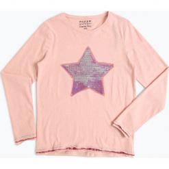 Review - Dziewczęca koszulka z długim rękawem, różowy. Czerwone bluzki dziewczęce z długim rękawem Review. Za 79,95 zł.