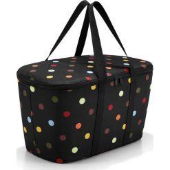 Torba Coolerbag Dots. Zielone torby plażowe marki Reisenthel, z materiału. Za 149,00 zł.