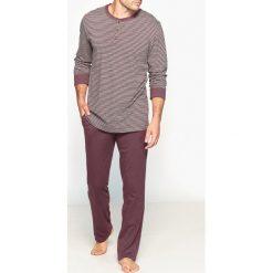 Piżamy męskie: Piżama z długim rękawem i rozcięciem dekoltu