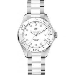 ZEGAREK TAG HEUER Aquaracer WAY131D.BA0914. Czarne zegarki damskie marki KALENJI, ze stali. Za 7950,00 zł.