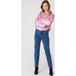 Rut&Circle Jeansy z prostą nogawką Hanne - Blue. Niebieskie jeansy damskie Rut&Circle, z jeansu. Za 202,95 zł.