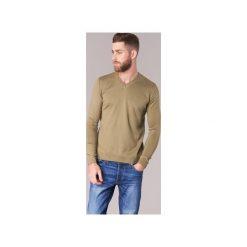 Swetry BOTD  ELABASE VEY. Brązowe swetry klasyczne męskie BOTD, l. Za 109,00 zł.