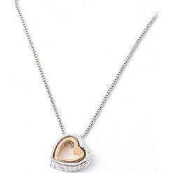 Naszyjniki damskie: Pozłacany naszyjnik z zawieszką – dł. 40 cm