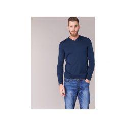 Swetry BOTD  ELABASE VEY. Niebieskie swetry klasyczne męskie BOTD, l. Za 109,00 zł.