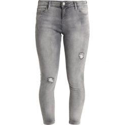 Boyfriendy damskie: Dorothy Perkins Petite DARCY RIP  Jeans Skinny Fit grey