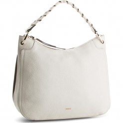 Torebka FURLA - Rialto 981781 B BNZ5 VHC Petalo. Białe torebki klasyczne damskie marki Furla, ze skóry, duże. Za 1319,00 zł.