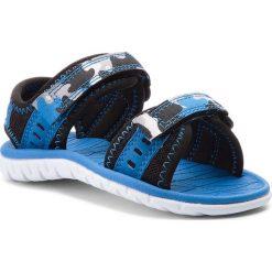 Sandały chłopięce: Sandały CLARKS – Surfing Wave 261313606  Blue Combi