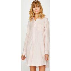 Lauren Ralph Lauren - Koszulka nocna. Szare koszule nocne i halki Lauren Ralph Lauren, z bawełny. W wyprzedaży za 319,90 zł.