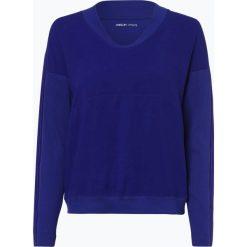 Marc Cain Sports - Damska koszulka z długim rękawem, niebieski. Niebieskie t-shirty damskie Marc Cain Sports, z tkaniny. Za 579,95 zł.