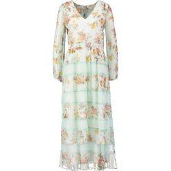 Długie sukienki: Derhy MALESHERBES Długa sukienka turquoise