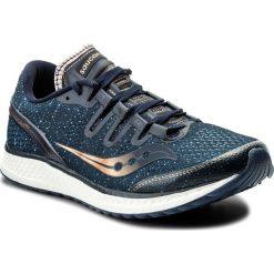 Buty SAUCONY - Freedom Iso S20355-30 Nvy/Den/Cop. Niebieskie buty do biegania męskie Saucony, z materiału. W wyprzedaży za 489,00 zł.
