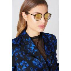 Okulary przeciwsłoneczne damskie: Le Specs Okulary przeciwsłoneczne Neptune – Black,Gold