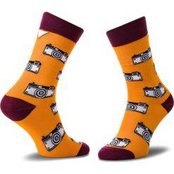 Skarpety Wysokie Unisex CUP OF SOX - Foto SOXy Klawe Że Hej! B Kolorowy Pomarańczowy. Czerwone skarpetki męskie marki Happy Socks, z bawełny. Za 24,00 zł.