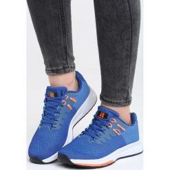 Niebieskie Buty Sportowe No Compromise. Pomarańczowe buty sportowe damskie marki Born2be, z materiału. Za 99,99 zł.