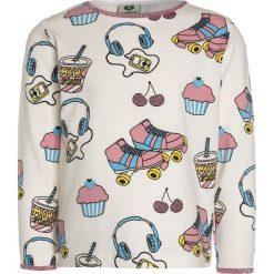 Bluzki dziewczęce bawełniane: Småfolk WITH ROLLERBLADE Bluzka z długim rękawem cream