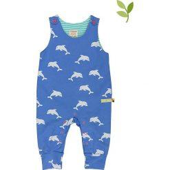Pajacyki niemowlęce: Śpioszki w kolorze niebieskim
