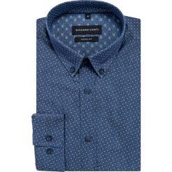Koszula SIMONE KDGR000412. Czarne koszule męskie na spinki marki TOM TAILOR DENIM, l, z bawełny, button down, z długim rękawem. Za 169,00 zł.