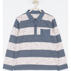 Koszulka. Szare t-shirty chłopięce z długim rękawem COOL, z bawełny. Za 55,90 zł.