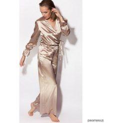 Piżamy damskie: Piżama The Classic One złota