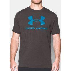 Under Armour Koszulka męska CC Sportstyle Logo szara r. S (1257615-019). Szare koszulki sportowe męskie marki Under Armour, l, z dzianiny, z kapturem. Za 99,90 zł.